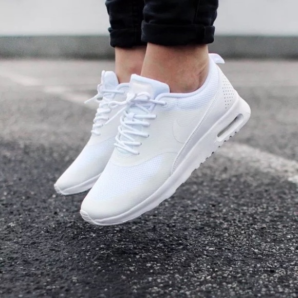 WMNS Nike Air Max Thea Triple White Women Running Shoes SNEAKERS NSW 599409 104 5